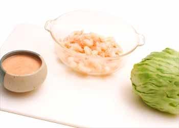 Cómo hacer camarón o cangrejo Louie
