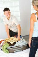 Cómo empacar durante 10 días en una maleta pequeña