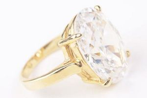 Cómo pulir un anillo de diamantes
