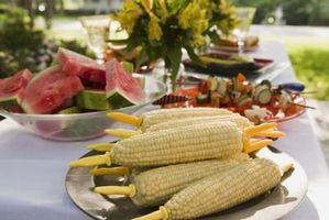 Las diferencias entre el amarillo y maíz blanco