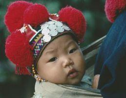 Cómo hacer Hilados pompones para Little sombreros del bebé
