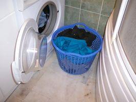 Cómo lavar en seco en una lavadora de carga frontal