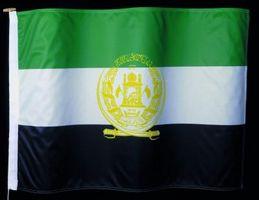 ¿Qué son los dos países del este y del oeste de Afganistán?