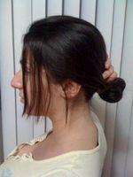 Cómo arreglar su pelo en un moño