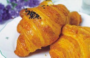 Mantequilla Razón de Harinas de croissants