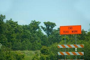 Problemas con las barreras de plástico Highway