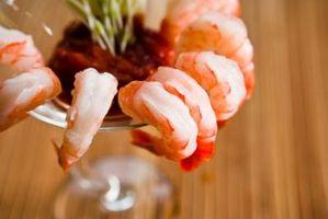 Cómo cocinar el camarón a servir frío