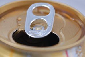 ¿Por qué el aluminio utilizado para latas de soda?