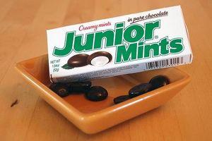 Datos de Junior Mints nutrtion
