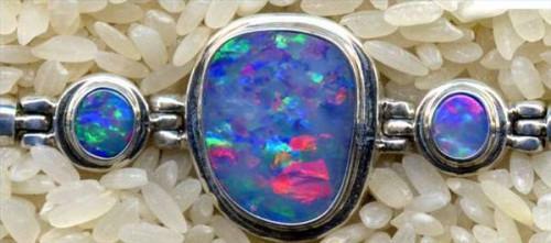 Cómo pulir Opal Piedras