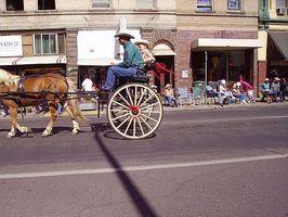 Cómo construir un carro de caballos