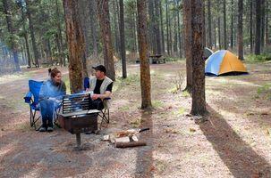 Al aire libre lista de camping