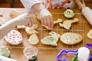 Cómo hacer que hiela color de las galletas de azúcar